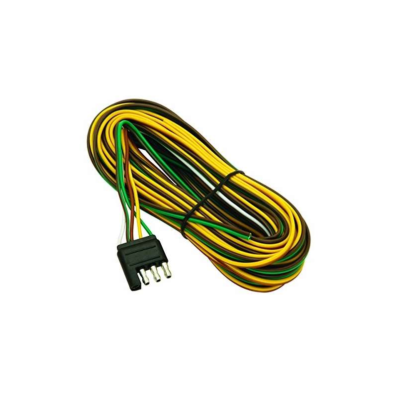Way Trailer Wiring Harness Color Coding on 4 flat trailer colors, 4-way round trailer lights colors, trailer turn signal colors,